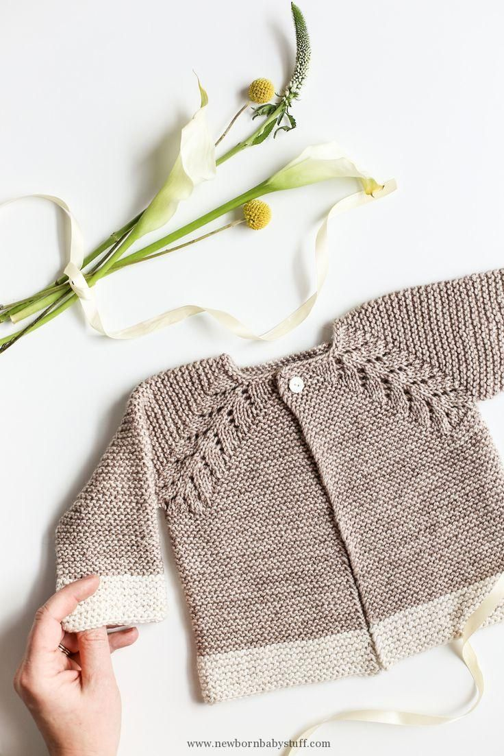Baby Knitting Patterns A Must Make Lovely Knit Top Down Cardigan ...
