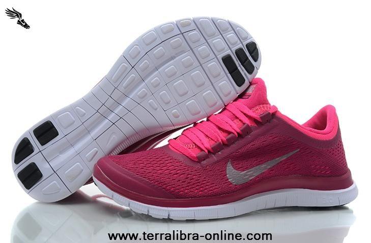 quality design 7d82b 00c50 Pink Cherry Silver WMNS Nike Free 3.0 V5 580392-616 | Newest ...