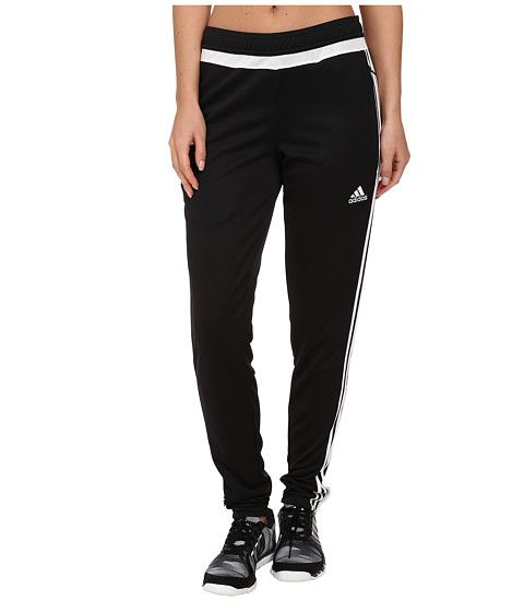 sale retailer 8369b bc630 adidas Tiro 15 Training Pant Black White Black - Zappos.com Free Shipping  BOTH Ways