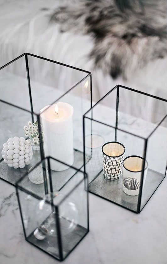 40+ Best Black And White Interior Design Ideas To Transform Your Home |  Decorative Candles, Glebe F.C. And Loft Design