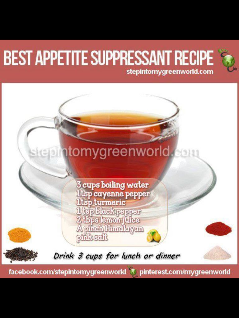The Best Appetite Suppressant Recipe.