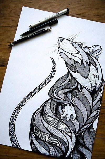 Izolyaciya Animal Faces Pinterest Drawing Techniques Drawings