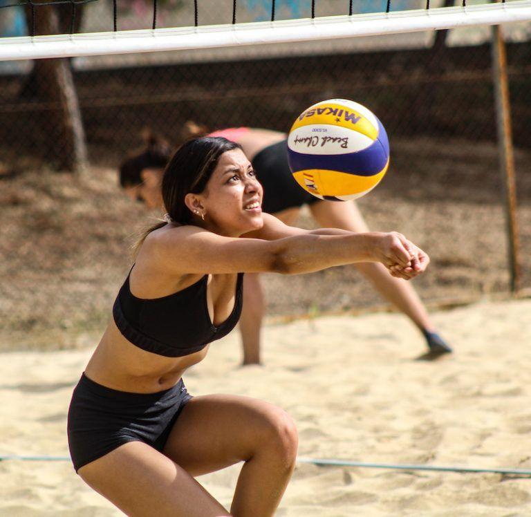 Trabajamos Juntos El Voley Playa Stars Volleyball Club Voley Playa Voley Volleyball Playa