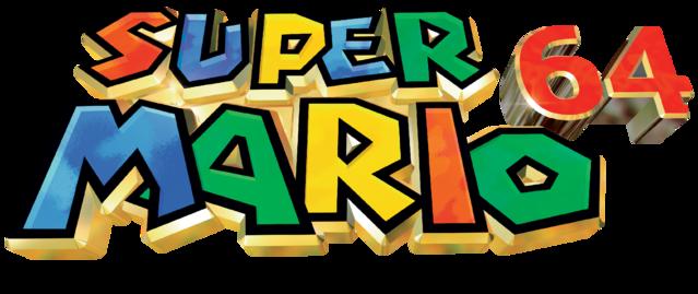 Archivo Logo De Super Mario 64 Png Super Mario Mario Logos
