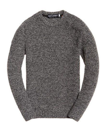 Superdry Surplus Goods Crew Neck Sweater Grey