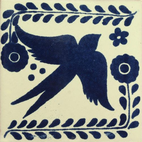 Decorative Mexican Tiles Glamorous Traditional Mexican Tile  Golondrina  Traditional Craftsman And Decorating Design