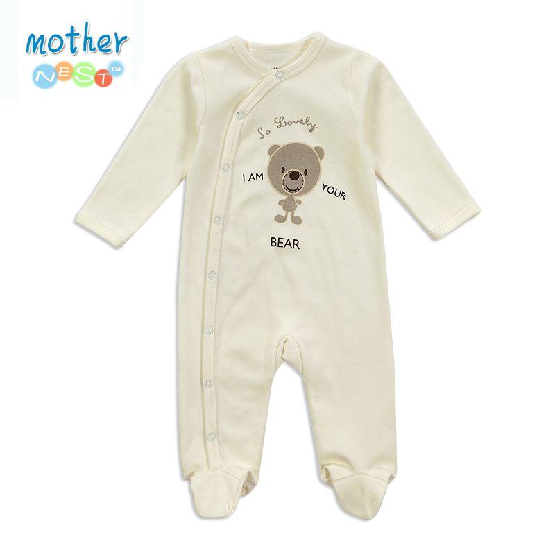 Barato Macacão de Bebê recém nascido Conjunto de Roupas de Moda Verão Do  Bebê de… f4e6537841d