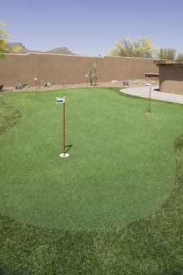How to Make Home Putting Greens | Golf Putting Green in ...