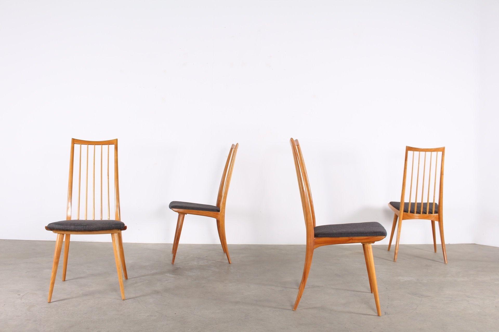 Chaise Vintage Design Scandinave Mid Century Modern Danemark A Liege