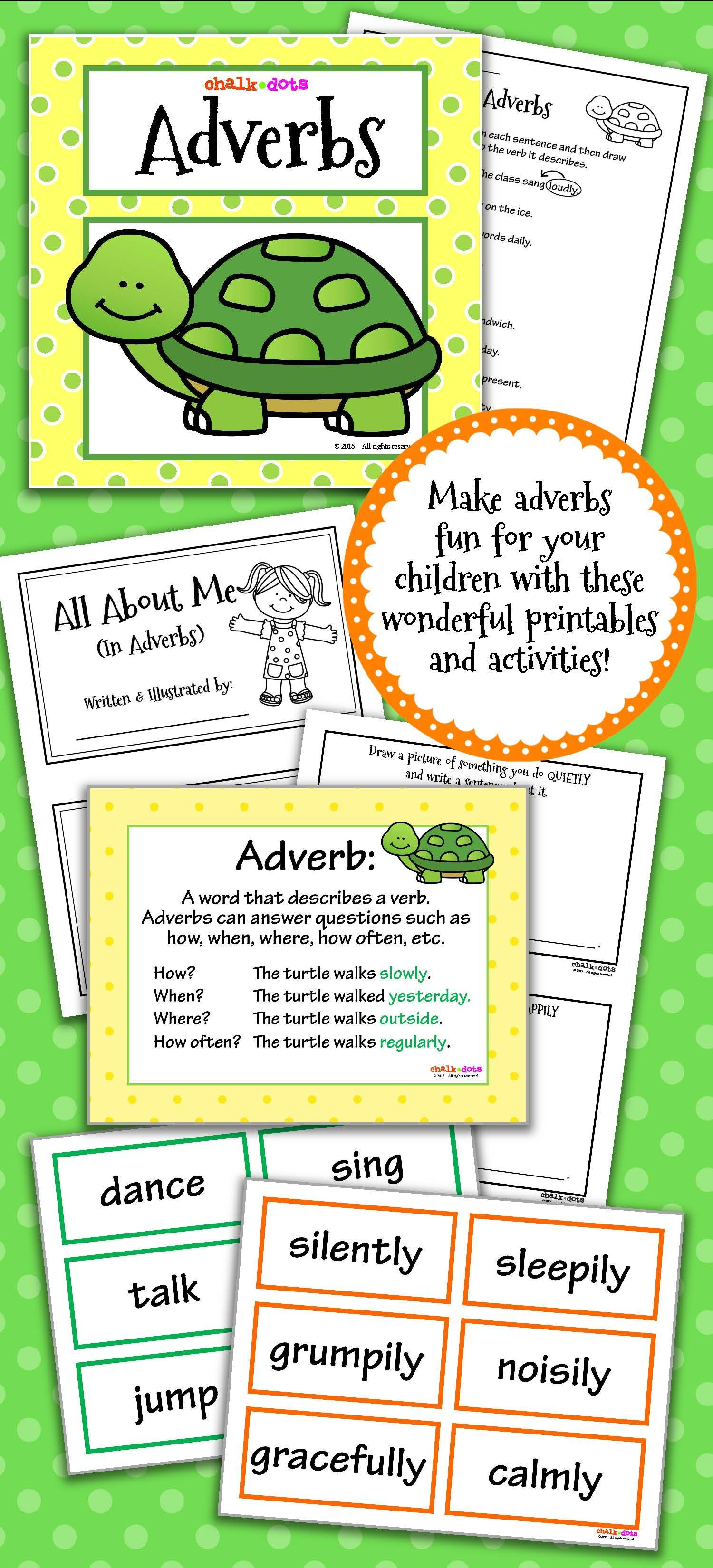 Adverbs Teaching Ideas