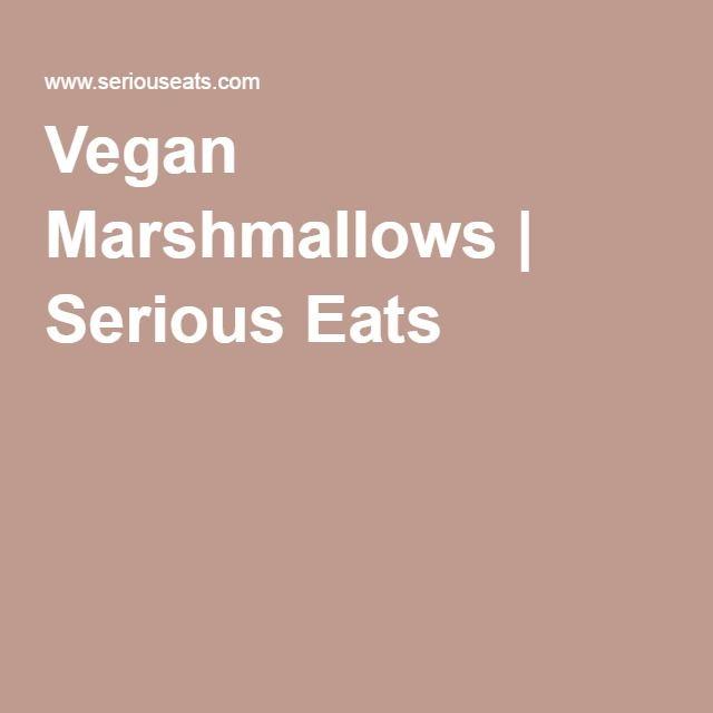 Vegan Marshmallows Recipe