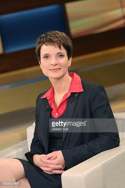 Dr Frauke Petry In Der Ardtalkshow Anne Will In Berlin Petry Promis Fotos