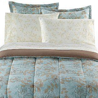 Kmart Colormate Complete Bed Set Field Of Blooms Comforter