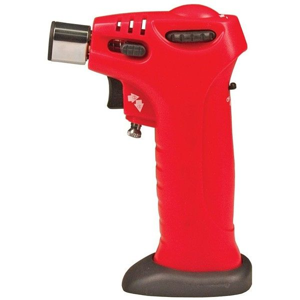 Fox Run Mini Chef's Torch, Red ($24) ❤ liked on Polyvore featuring home, kitchen & dining, kitchen gadgets & tools и red