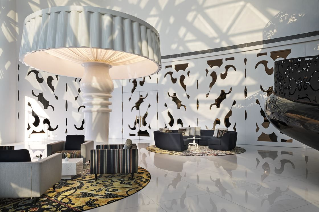 Mondrian Doha An Iconic Interior By Marcel Wanders For Sbe 2017