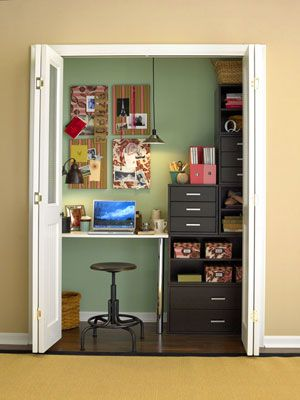 turn a old wardrobe into a study room home pinterest raum rh pinterest at