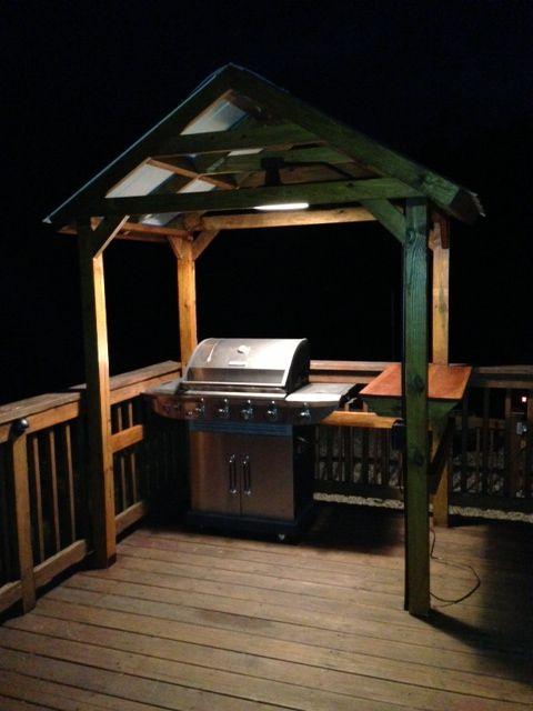 Grill Gazebo Grill Gazebo Outdoor Kitchen Design Backyard Grilling