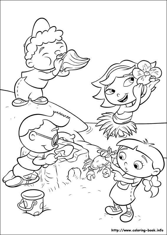Little Einsteins coloring picture | Michael\'s 1st Birthday | Pinterest