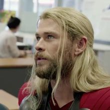 """Thor explains why he was absent from 'Captain America: Civil War' in a hilarious short film where he takes some """"me"""" time in Australia."""