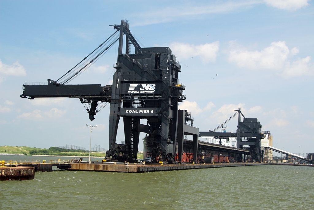 norfolk southern hampton coal Pier 6 Google Search