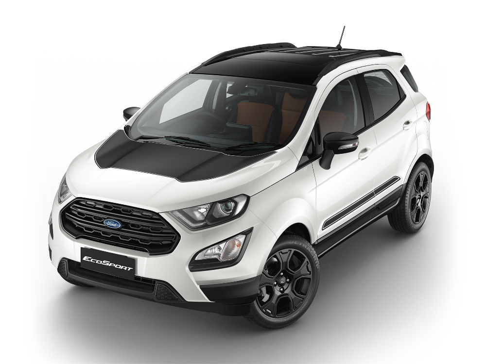 Ford Ecosport Thunder Cgi On Behance Ford Ecosport Automobile Companies Ford