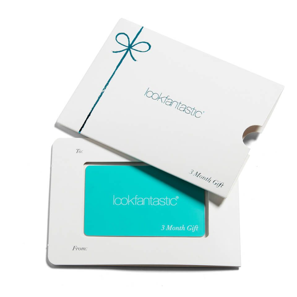 Buy lookfantastic beauty box month subscription gift card worth