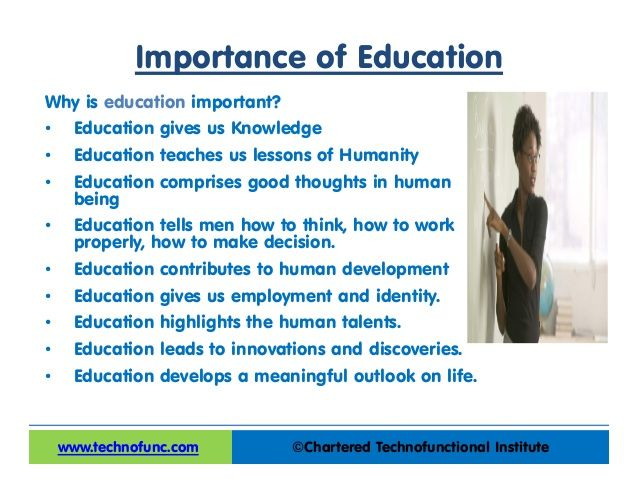 Important of education | Education | Pinterest | Education