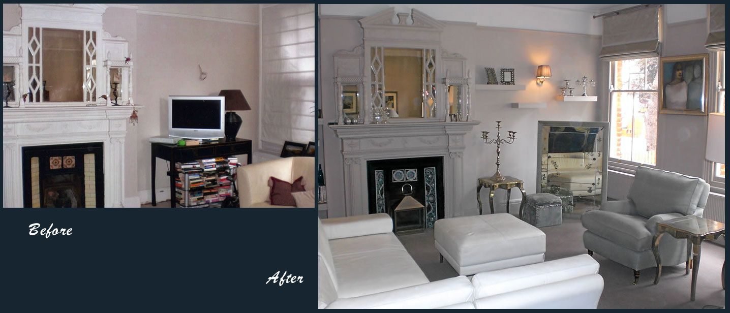 Interior Design Project Before And After