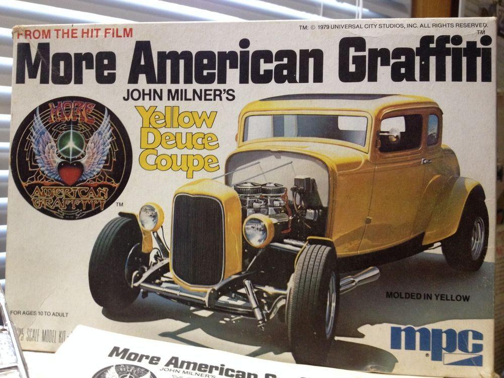Vtg More American Graffiti Movie John Milners 32 Ford Coupe 1979
