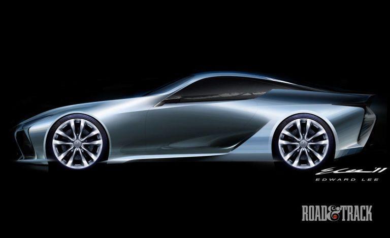 Photos Lexus Lf Lc Concept Sketches Car Lexus Lfa Car
