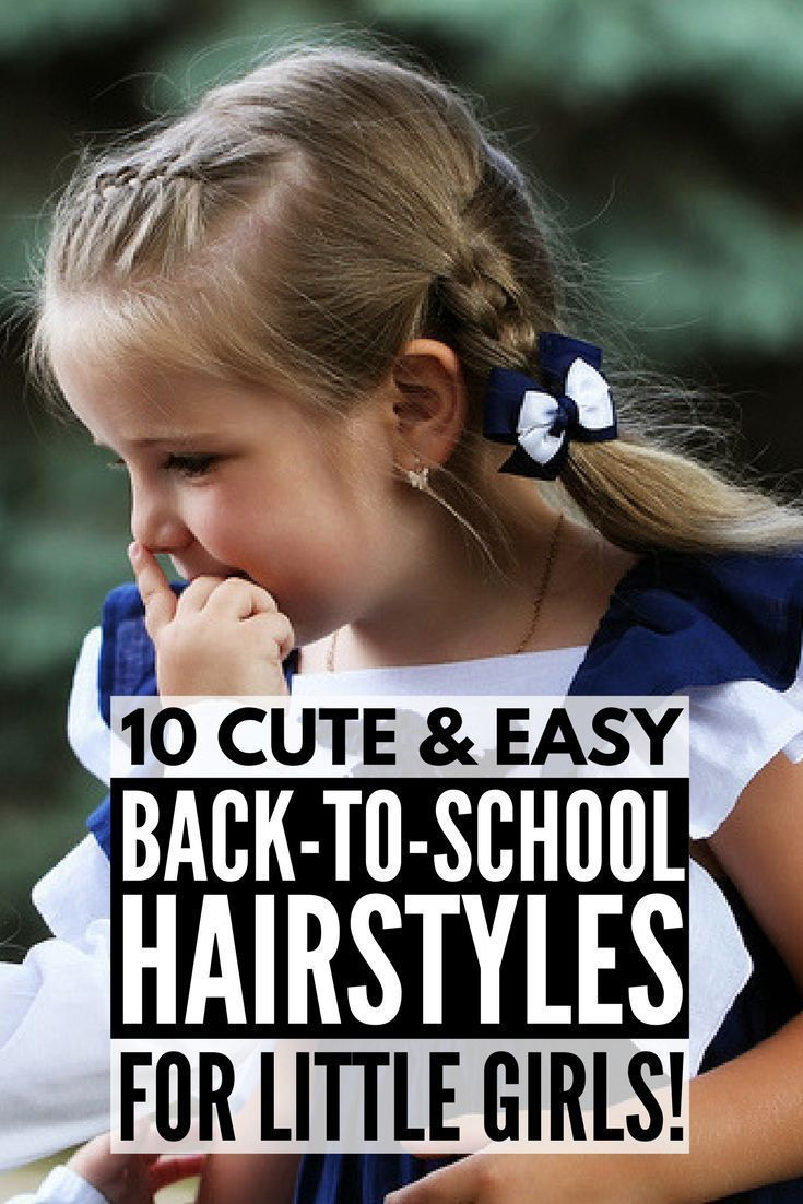 Looking for cute and easy backtoschool hairstyles for long hair