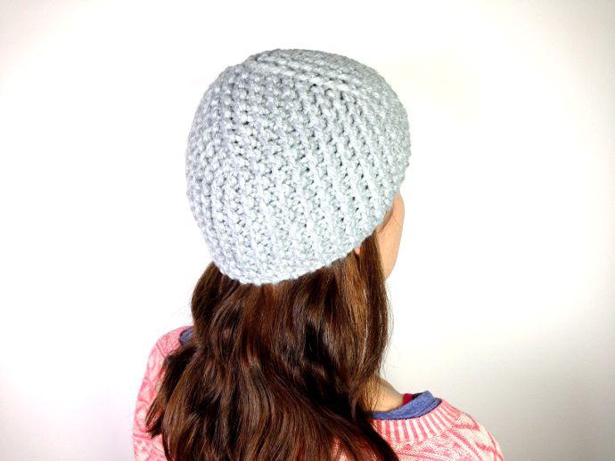 Loom knitted cloche hat tutorial | Tutoriales Telar / Loom Knitting ...