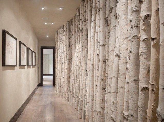 Decorazioni con alberi e tronchi ecco 20 esempi for Tronchi per arredamento