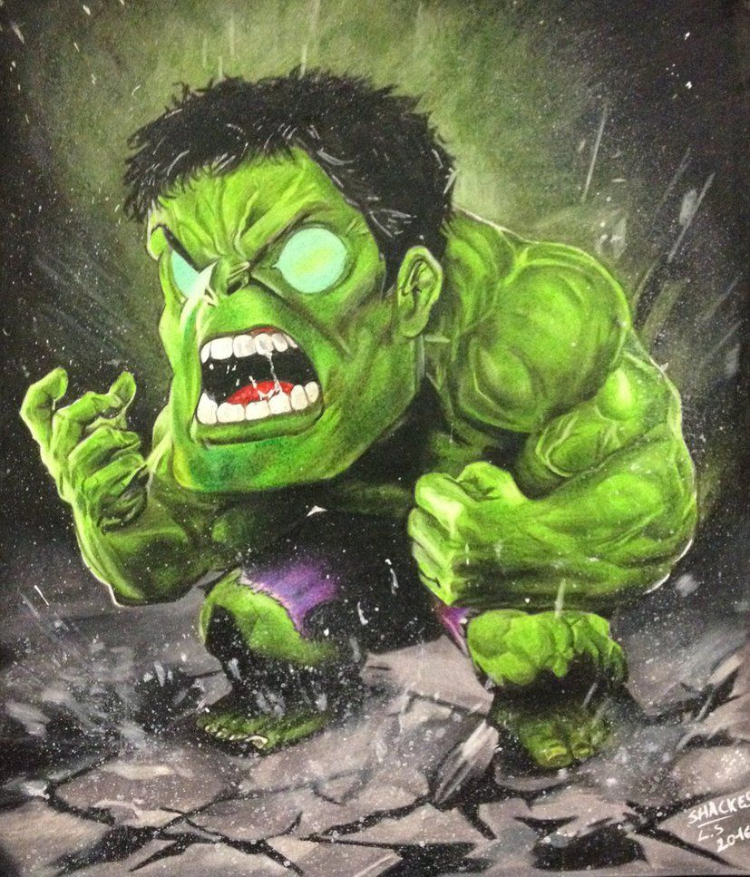 #Hulk #Fan #Art. (Hulk) By: Shackess. ÅWESOMENESS!!!™ ÅÅÅ+