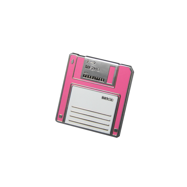Floppy Disk Pin 2 Colors Floppy Disk Enamel Pins Pin And Patches