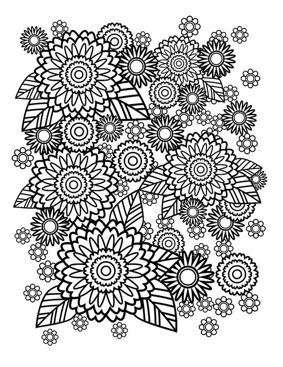 How To Create A Stress Relief Coloring Book Page In Adobe Illustrator Stress Relief Coloring Books Pattern Coloring Pages Personalized Coloring Book
