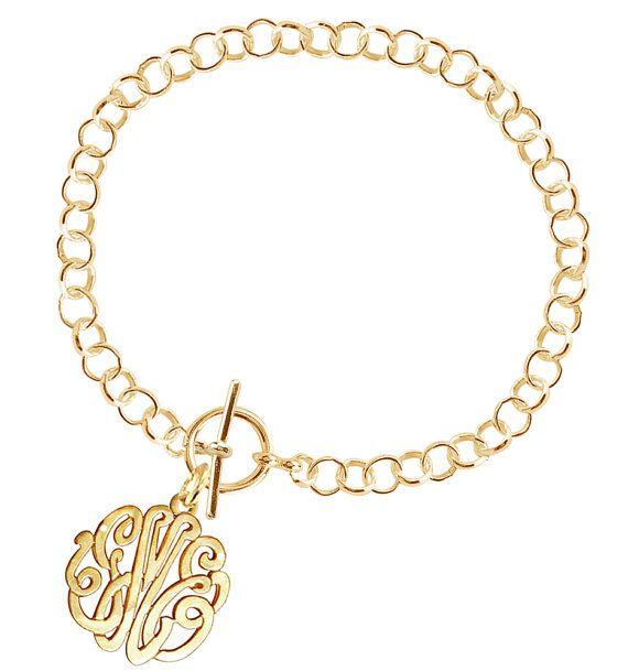 Handcrafted Personalized Initials Bracelet Order Any Name Etsy Initial Bracelet Monogram Bracelet Monogram Jewelry