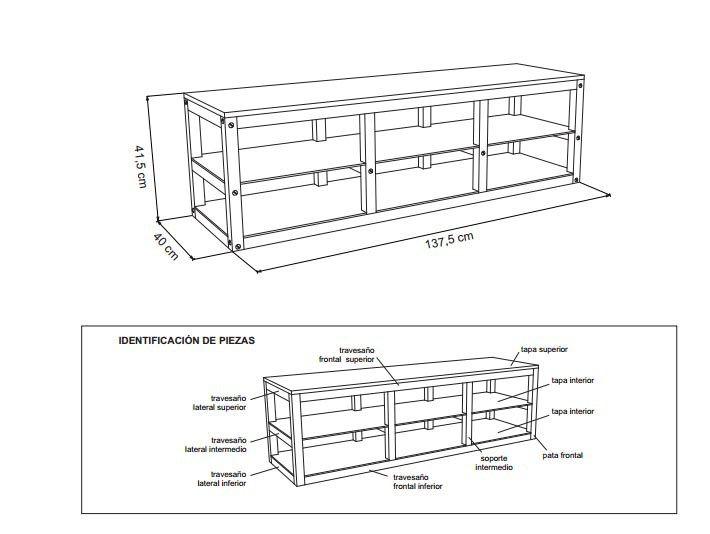 Planos para construir muebles de madera planos for Planos de carpinteria de madera