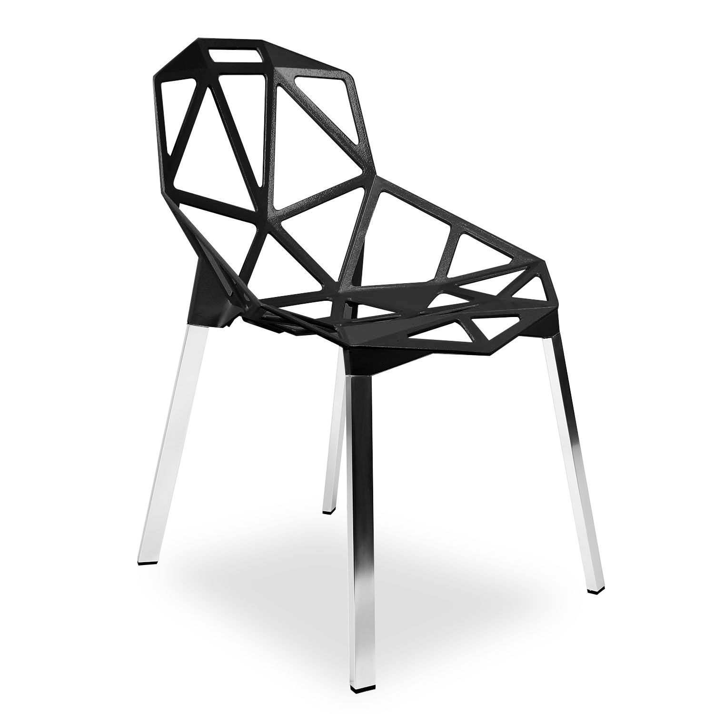 Silla Cubic Aluminio Sillas Icono Del Dise O One Magis  # Muebles Para Food Court
