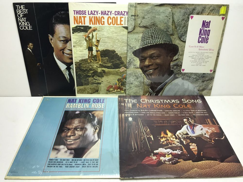 Nat King Cole LP Vinyl Record Album Lot: The Best of + Christmas ...