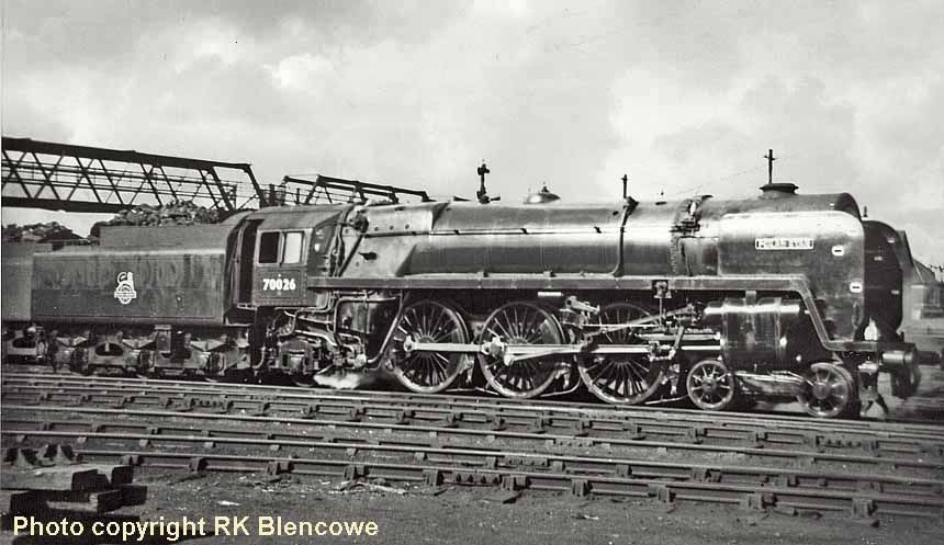 February 1957, Polar Star pictured at Cardiff, 70026