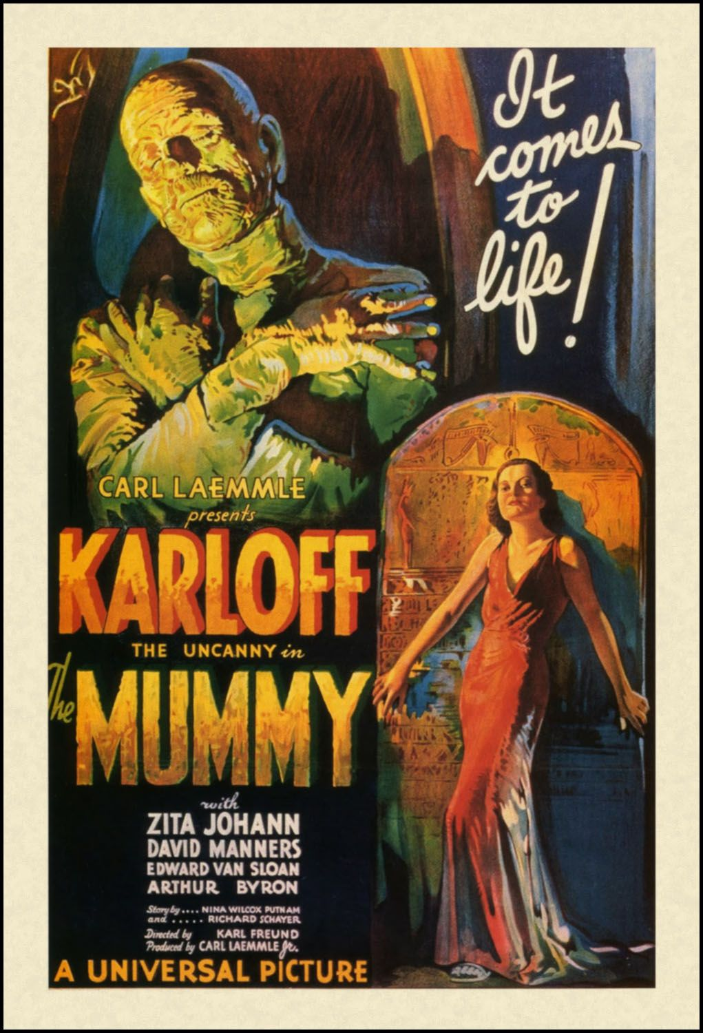 The Pictorial Arts A Great Time Visit Had By All Classic Horror Movies Posters Movie Posters Vintage Old Movie Posters