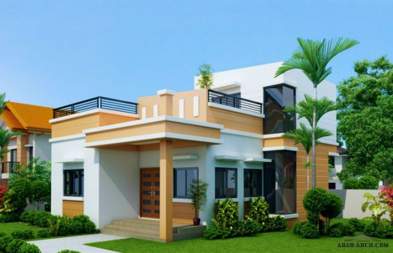 Arab Arch صفحة 36 Four Bedroom House Plans One Storey House