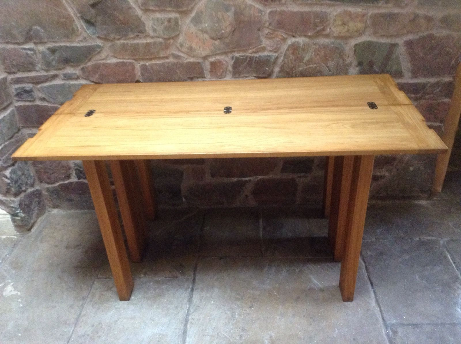 Laura Ashley Brompton Oak Console Dining Table
