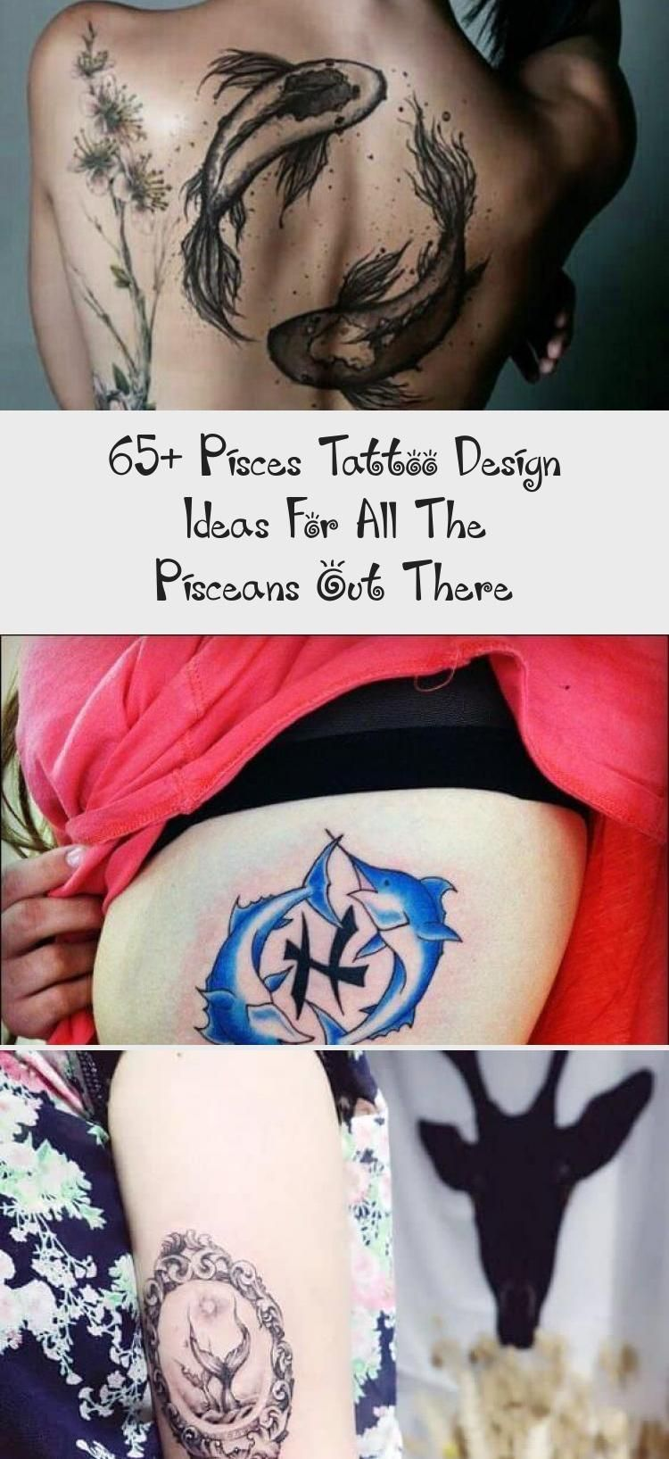 65+ Pisces Tattoo Design Ideas For All Fish Out There »EcstasyCoffee # ..... -  65+ Pisces Tattoo Design Ideas for All Fish Out There »EcstasyCoffee # … – 65+ Pisces Tattoo D - #design #dragontattoo #ecstasycoffee #Fish #ideas #pisces #piscestattoo #tattoo #there