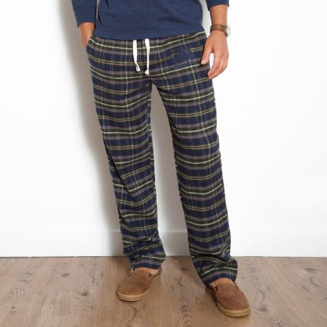 CDNGetaway Roots Canada - Sean Plaid Lounge Pant | Roots ...
