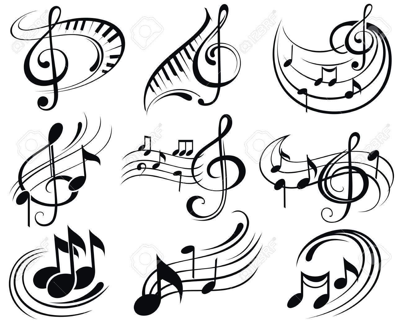 Photo of Music notes