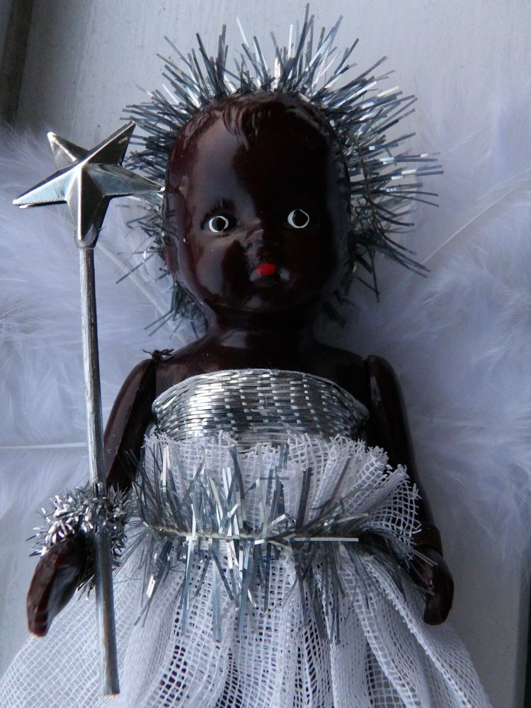 Pin on My Vintage Christmas Fairy Dolls