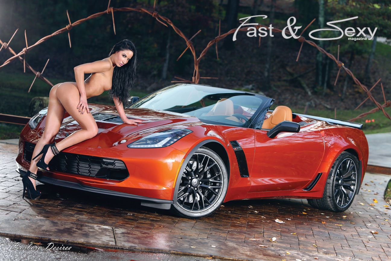 Naked girls who love corvettes