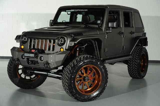 2014 Jeep Wrangler Unlimited Nighthawk Dallas Texas Starwood